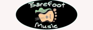 barefoot music logo oval